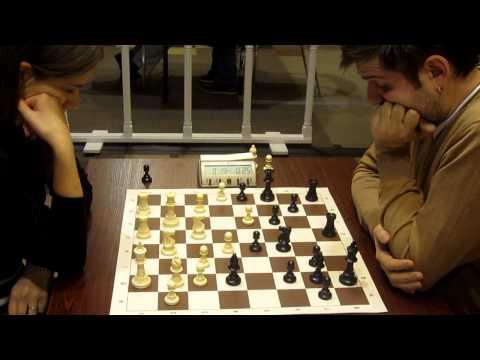 chess blitz WGM Kashlinskaya - GM Svidler