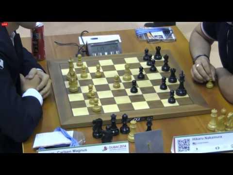 Чемпионат мира 2014 по блицу тур 10 Карлсен - Накамура, Шотландская партия