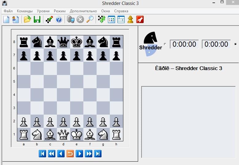 Скачать шахматную программу шредер бесплатно